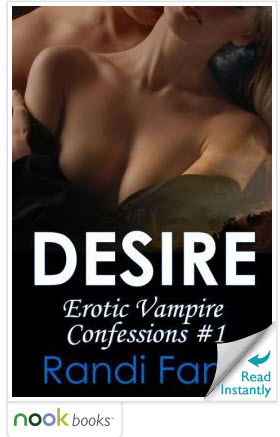 Desire is FREE on B&N! Cover design by Ally Thomas